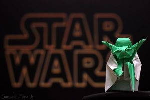 Fold or do not fold paper...there is no try.