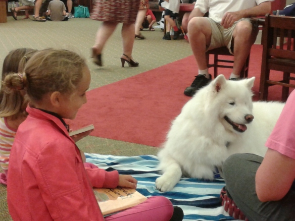 """I love these stories - can a dog get a library card - woof!"""
