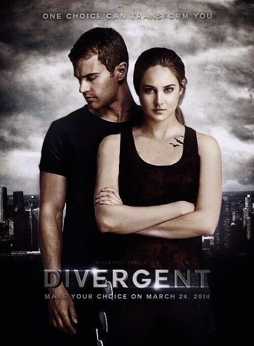 Veronica Roth's Divergent is currently a big hit in movie theaters.