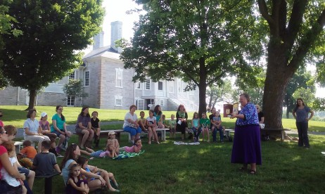 Belle Grove Stories on the Lawn Donna Reading3