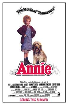 Annie (old) movie poster