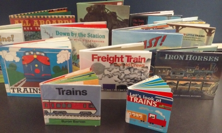 Train Books at HRL