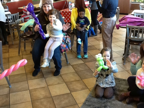 Mommy and Me Storytime at Chik-fil-A