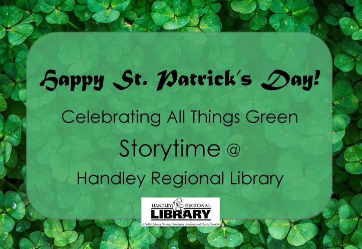Happy St. Patrick's Day Green Storytime