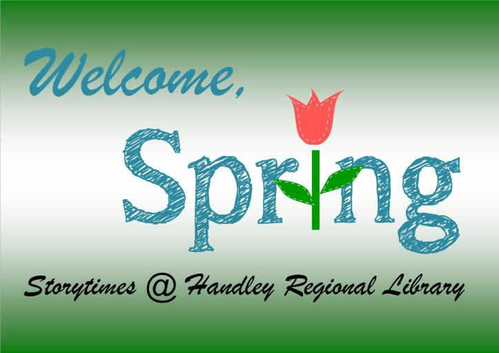 Welcome Spring Title Card