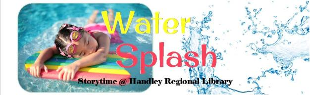 Water Splash Storytime Title Card